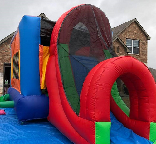 15X21 Bounce House Slide  Multi-color